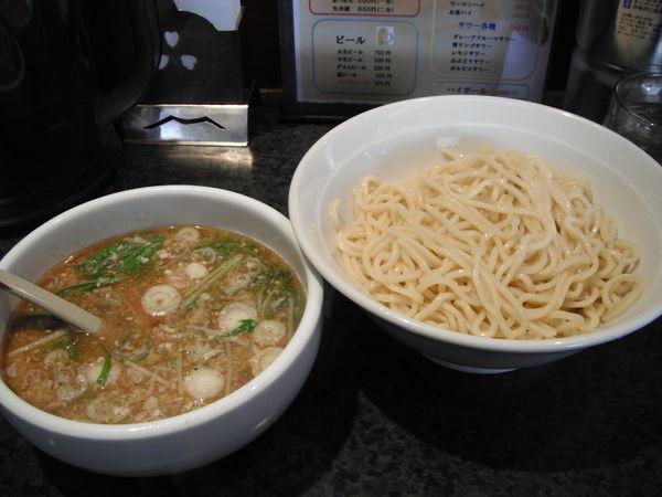 「塩つけ麺中盛 750円」@大らーめん 福籠の写真
