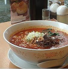 「担々麺700円(辛さレベル4)+大盛100円」@中華四川料理 飛鳥の写真