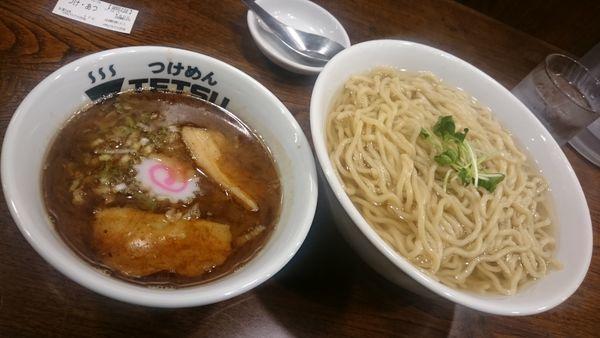 「つけあつ(800円)+野菜(150円)」@つけめんTETSU 渋谷店の写真