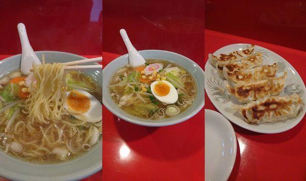 「『タンメン+餃子(¥700+350)』」@メルシーの写真