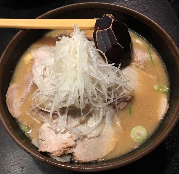「酒粕叉焼麺」@玄屋の写真