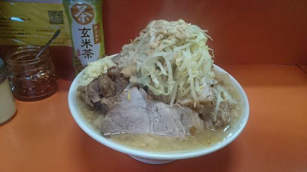 「大豚ダブル(ヤサイニンニクアブラ)¥950」@ラーメン二郎 神田神保町店の写真