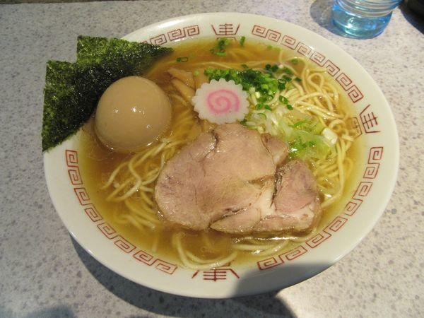 「中華そば(650円)+味玉」@麺や 武蒼の写真