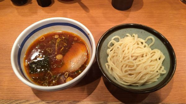「元祖つけ麺(小)」@東池袋大勝軒 京都拉麺小路店の写真