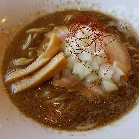 「濃厚煮干SOBA ¥780」@らーめんキッチン いいづかの写真