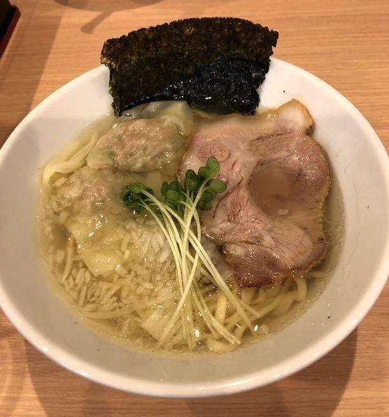「塩そば ¥750」@中華そば JUN-CHANの写真