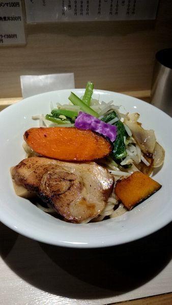 「野菜つけ麺(900円)」@八王子 麺屋土竜の写真