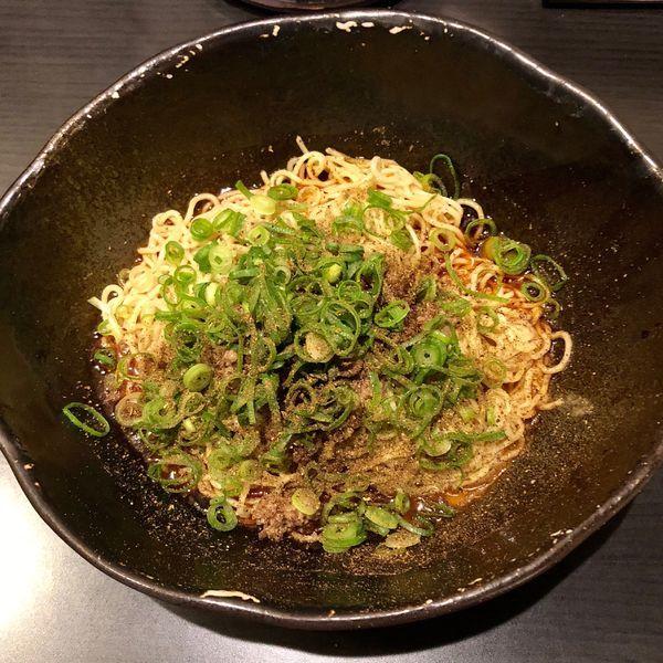 「汁なし担担麺 大盛 3辛 (680円)」@汁なし担担麺専門 キング軒の写真