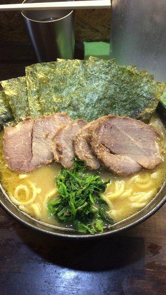 「チャーシュー麺」@横浜家系 ぱるぷん亭の写真