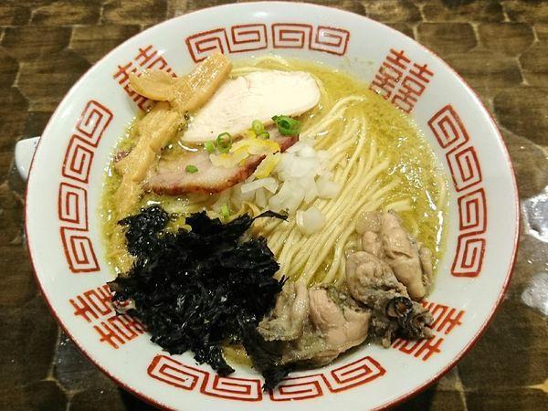 「【限定】濃厚牡蠣そば」@特級鶏蕎麦 龍介の写真