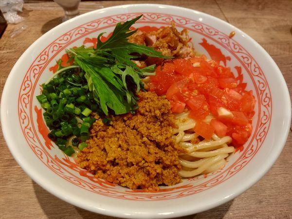 「とりみそ三昧麺(大盛・320g)950円」@バタチキ 高崎オーパ店の写真