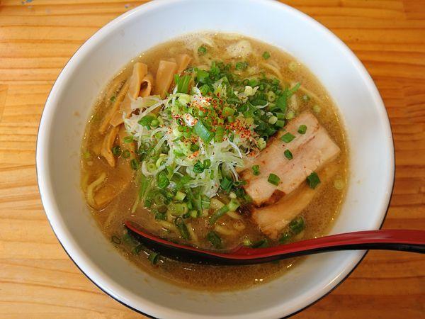 「からっ風かさね味(醤油、硬め)」@中華麺酒家 からっ風の写真