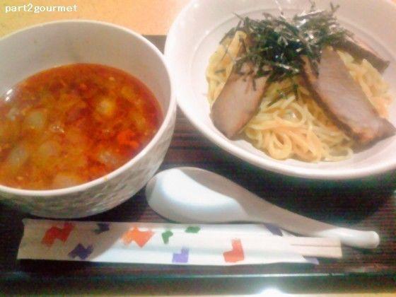 「勝浦タンタンつけ麺+チャーシュー (900円)」@JAOの写真