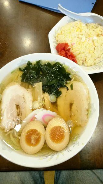 「ラーメン  650円」@手打ちラーメン 恒の写真