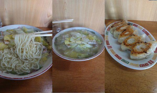 「『タンメン+餃子(¥700)+300』」@香 東中神店の写真