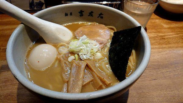 「味玉ラーメン」@麺屋吉左右の写真