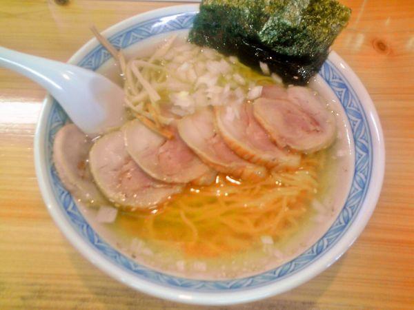 「塩鶏チャーシューメン (850円)」@幽谷らーめんの写真