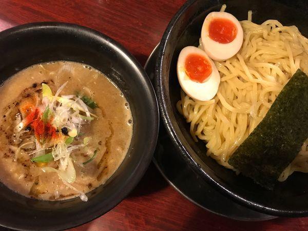 「味玉豚骨味噌つけめん(¥980)」@豚骨ラーメン じゃぐら 高円寺店の写真