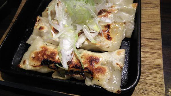 「鉄板棒餃子」@麺や 豊の写真