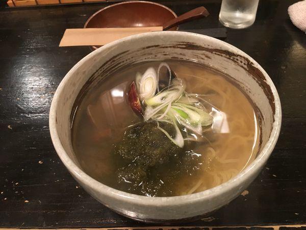 「貝汁そば」@ボンゴレ亭の写真