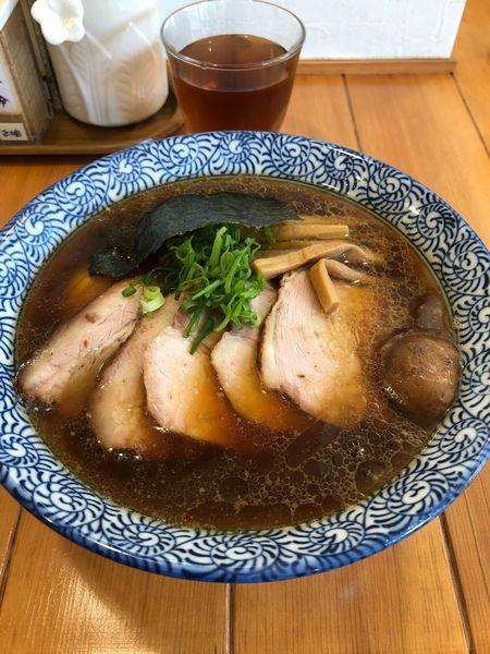 「元味ちゃーしゅー麺(細麺)」@らーめん森や。の写真