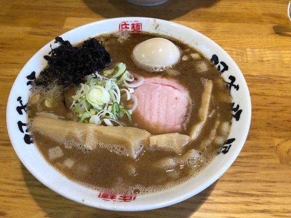 「魚介らぁめん(細麺)」@麺屋 庄太 六浦本店の写真