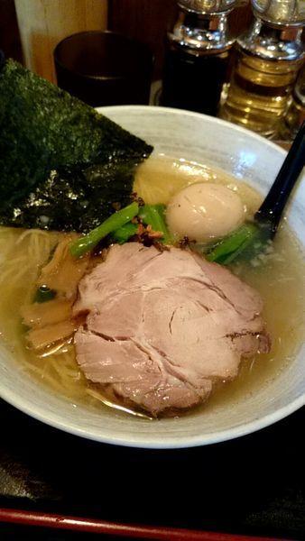 「味玉ラーメン(塩)」@麺屋 匠堂の写真