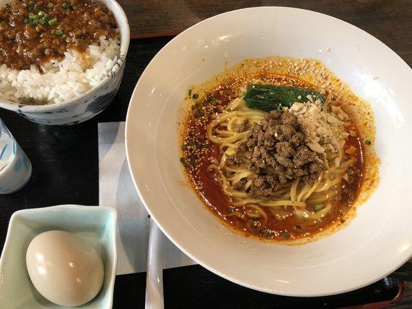 「つゆ無し担々麺」@FUKU ROKU JYU 福禄寿の写真
