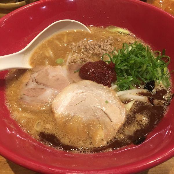 「赤丸味噌」@博多一風堂 岡山店の写真
