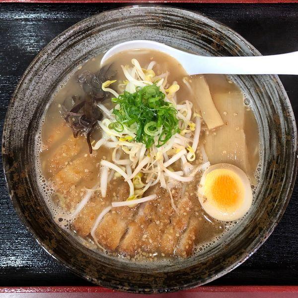 「濃厚和節カツ拉麺 (850円)」@土佐自然堂の写真