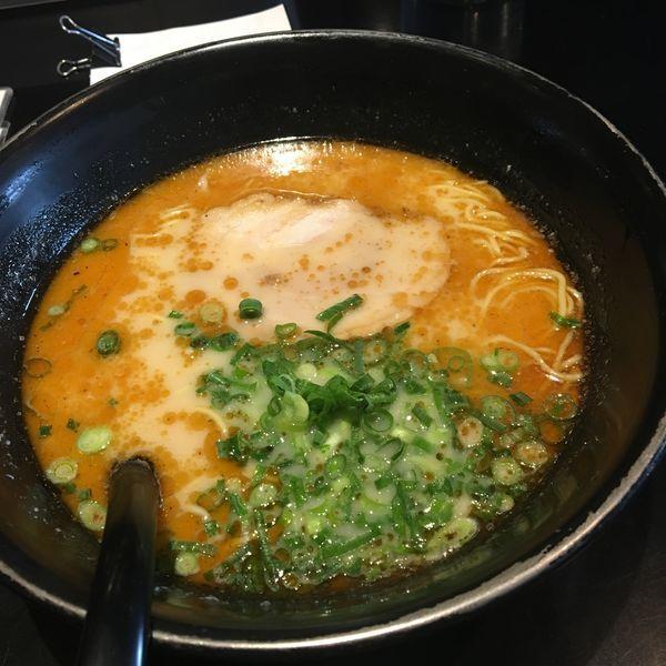 「甘えび香味らうめんキクラゲ抜き  替え玉」@らうめん侍の侍の写真
