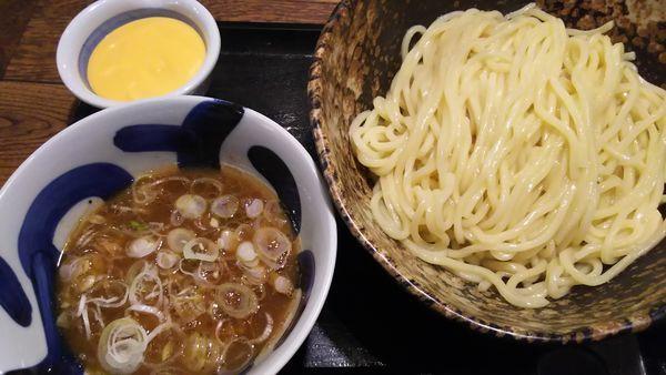 「濃厚チーズソースつけ麺」@三ツ矢堂製麺 イオンモール水戸内原店の写真