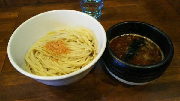 「味噌つけ麺+海老油」@麺や 蒼輝 AOIKAGAYAKIの写真
