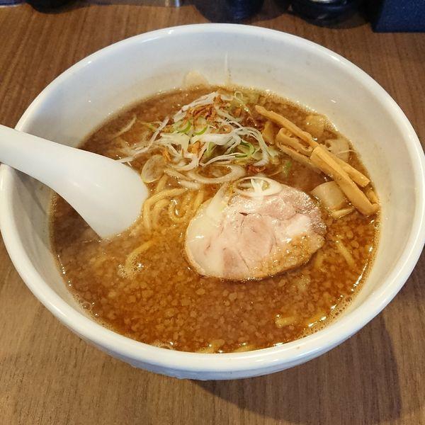 「魚介醤油らーめん  @750円」@らーめん つけ麺 NOFUJIの写真