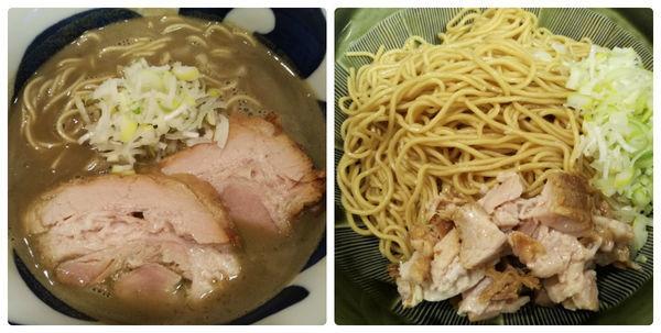 「【限定A】かけ煮干ラーメン+豚1枚+替玉×2」@ハイパーファットンの写真