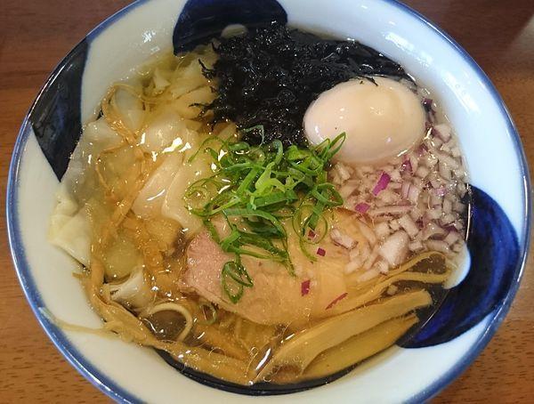 「ワンタン中華そば(塩)」@麺喰屋 澤 徳島店の写真