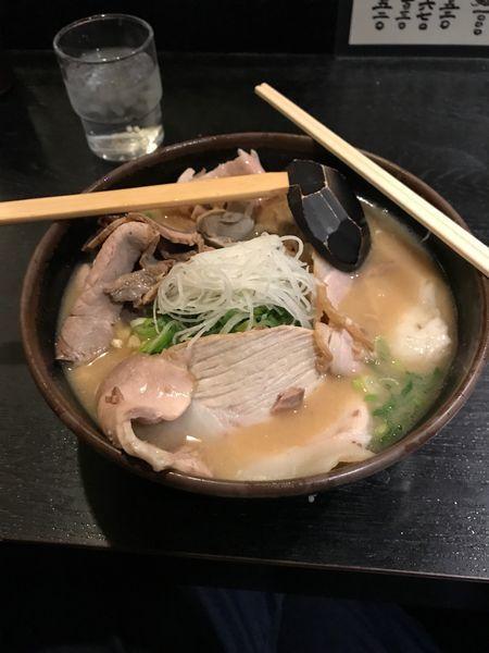「酒粕焼豚麺」@玄屋の写真