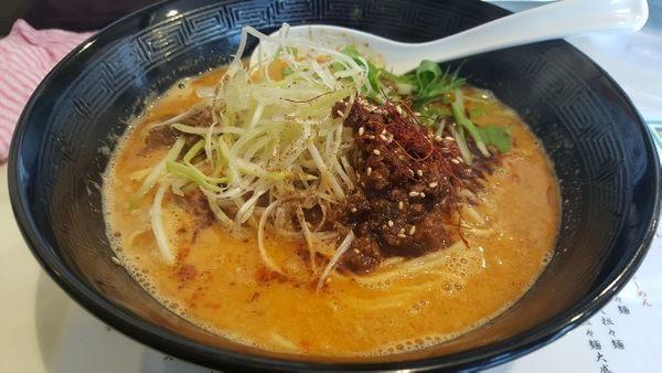 「担々麺(850円)」@四川担々麺いぶし銀の写真