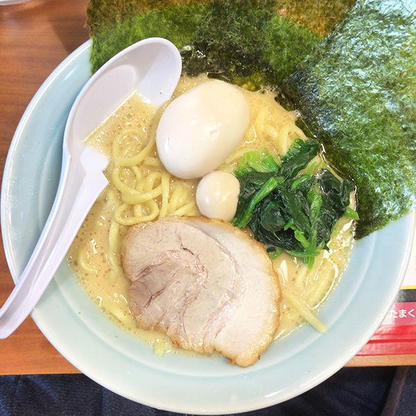 「味玉ラーメン+卵かけご飯(ランチサービス)」@目黒 魂心家の写真
