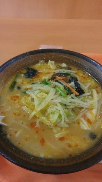 「味噌野菜らーめん 590円税別」@幸楽苑 ウニクス南古谷店の写真