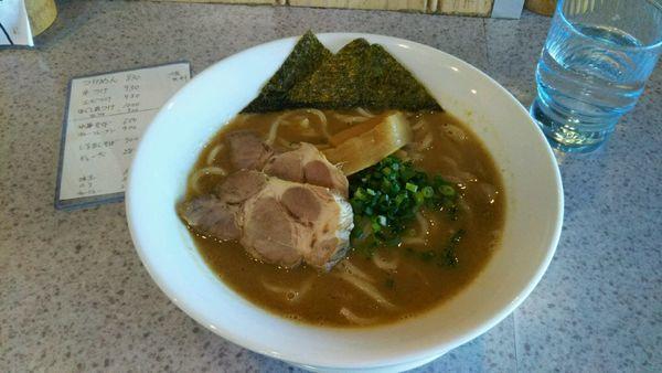 「濃厚魚介豚骨ラーメン」@麺や 武蒼の写真
