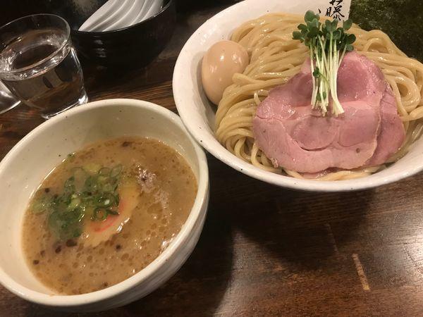 「特製鶏白湯つけ麺 大盛」@麺屋 藤しろ 目黒店の写真