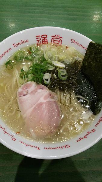 「通堂うま塩ラーメン おんな味」@居酒屋 りょう次 横浜ラーメン博物館店の写真