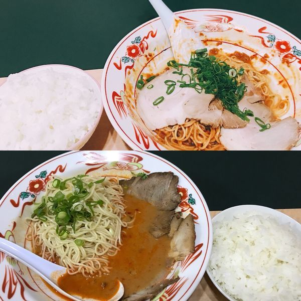 「汁無し担々麺&ライス」@大王の写真