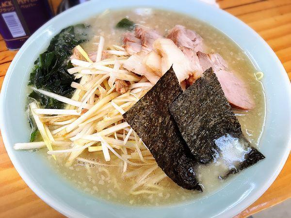 「ねぎチャーシュー麺」@ラーメンショップ 寒川西店の写真