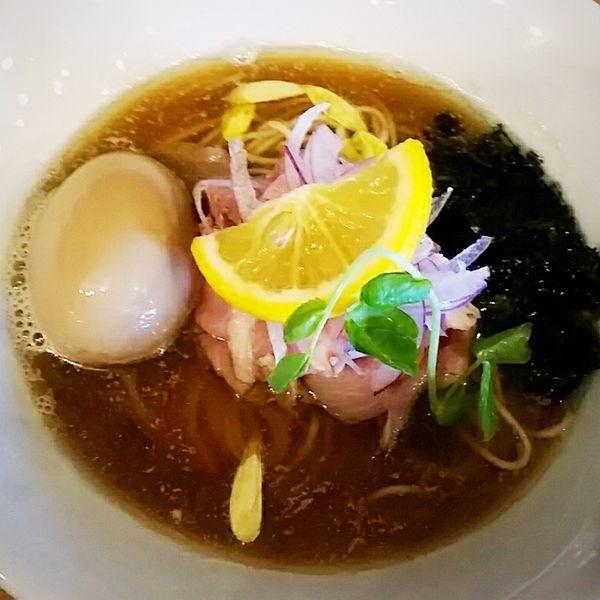「金煮干しそば 800円+トムヤム玉250円」@麺's キッチン RIRIの写真