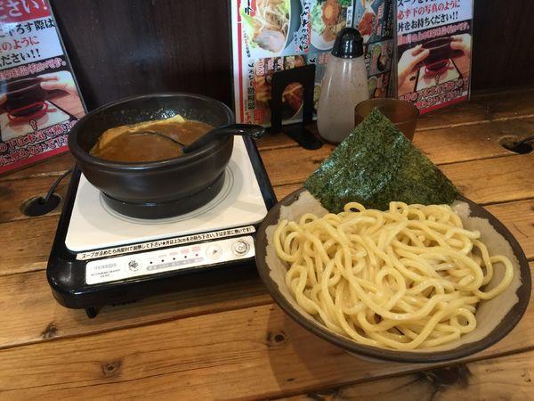「つけ麺 (大盛り無料」@あびすけ 東山田店の写真