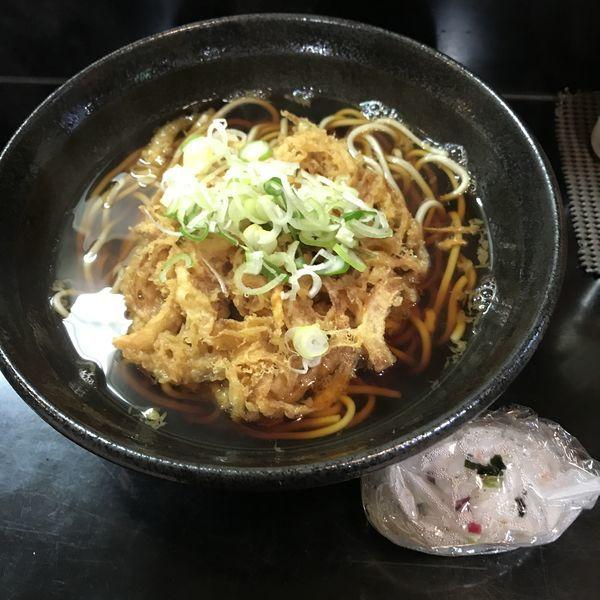 「野菜天(¥400)+おにぎり(¥100)」@ながらの写真
