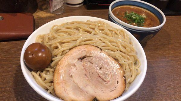 「味玉トロつけ麺 特盛」@麺屋あらき 竈の番人外伝の写真
