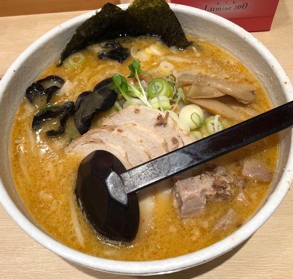 「味噌チャーシュー麺」@白樺山荘 京都店の写真